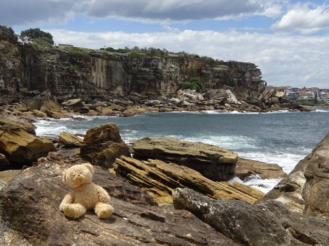 andi on the rocks